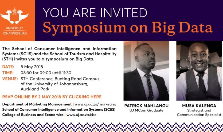 What To Expect At The UJ Big Data Symposium