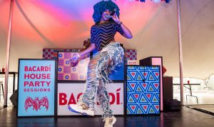 Heavy K and Moonchild Sanelly set the Bacardi House Party Sessions stage alight