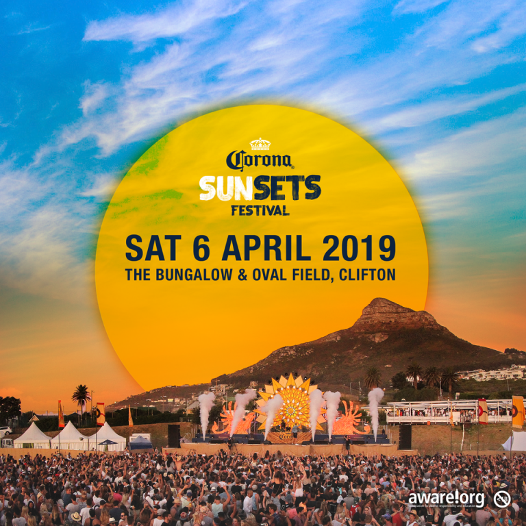 Corona SunSets Festival returns to Cape Town in 2019