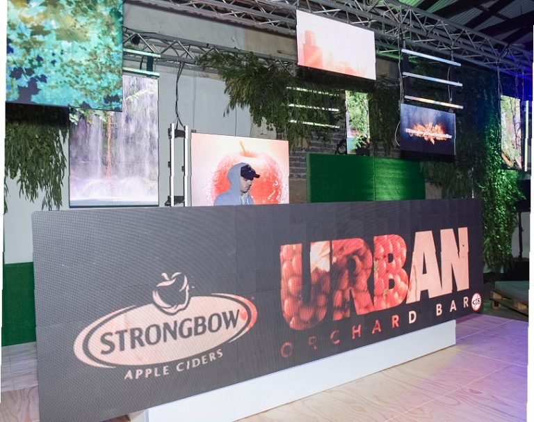 Strongbow Urban Pop Up Orchard Bar