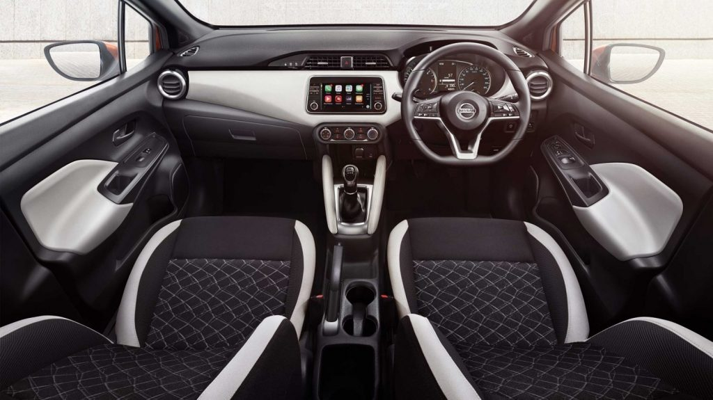 New Nissan Micra Interior