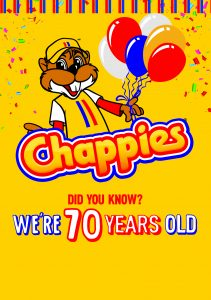 Did You Know? Chappies is turning 70 years old!