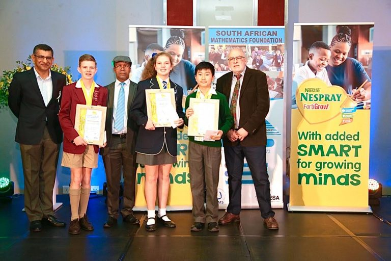 NESTLÉ NESPRAY Celebrates Young Mathematicians