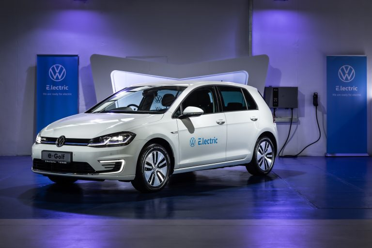 Volkswagen launches electric mobility pilot project in South Africa