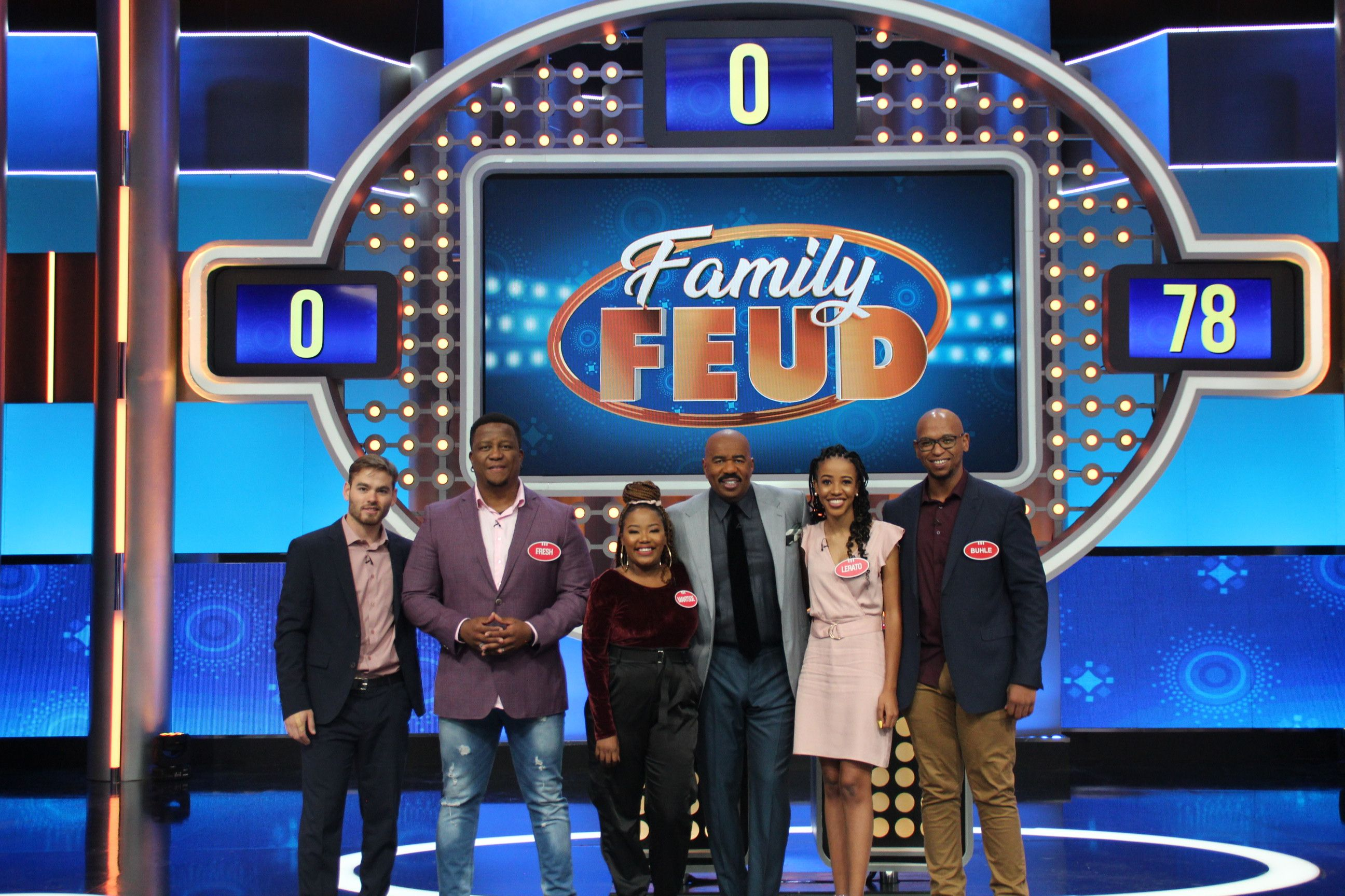 947 team on Family Feud South African