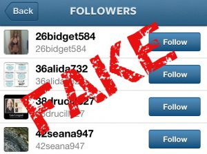 How to see if someone has fake followers