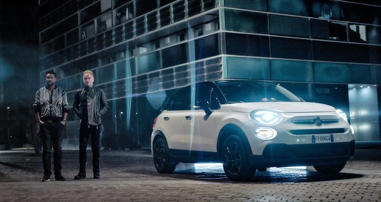 New Fiat Advertising Campaign celebrates 2019 Grammy Award Winners Sting & Shaggy for Best Reggae Album