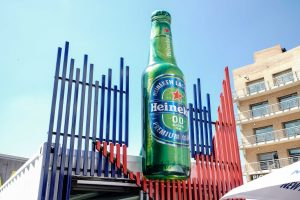 Heineken launches an alcohol free beer
