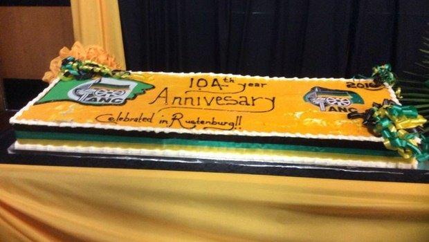ANC spelling mistake on the cake.