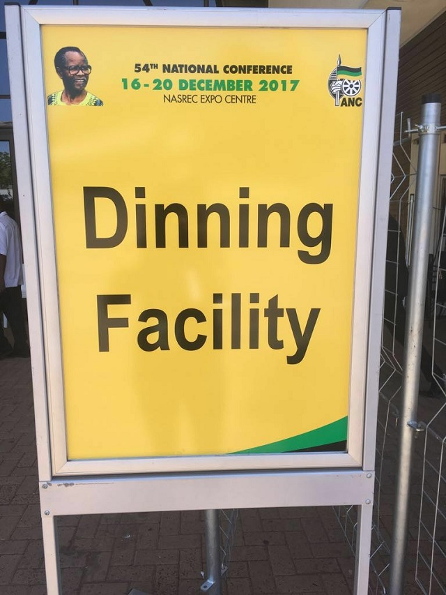 ANC spelling mistake on signage