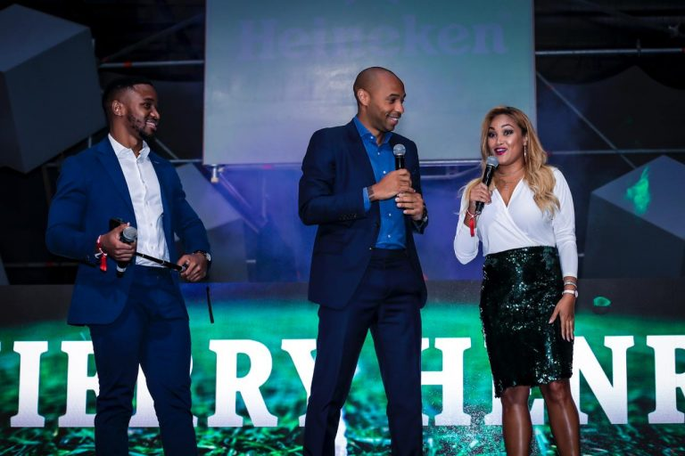 Heineken Unmissable Campaign brought Thierry Henry to SA