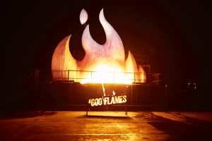 Steers opens in 600th restaurant in flames