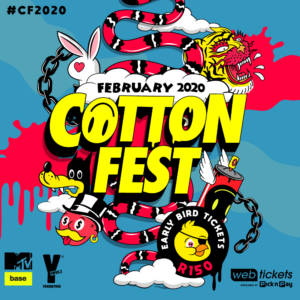 COTTON FEST 2020 EARLY BIRD TICKETS NOW ON SALE