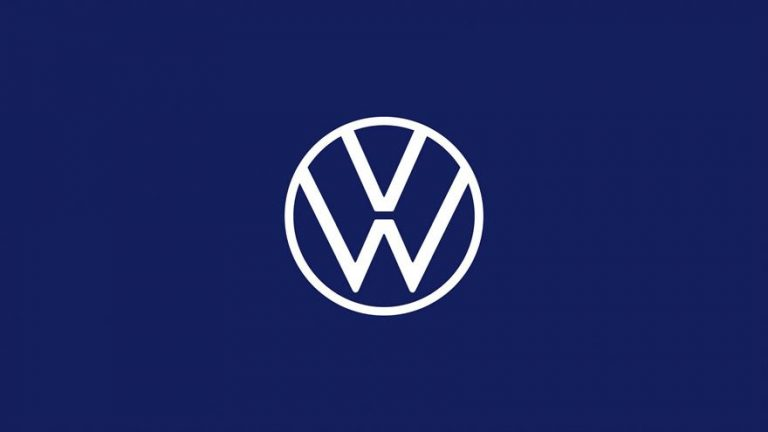 VW unveils its brand-new logo