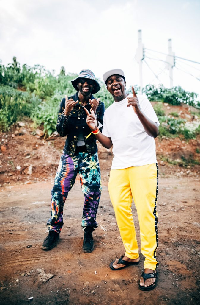 Ricky Rick and Oskido at Cotton Fest