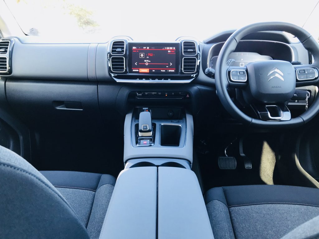 Citroën C5 Aircross interior