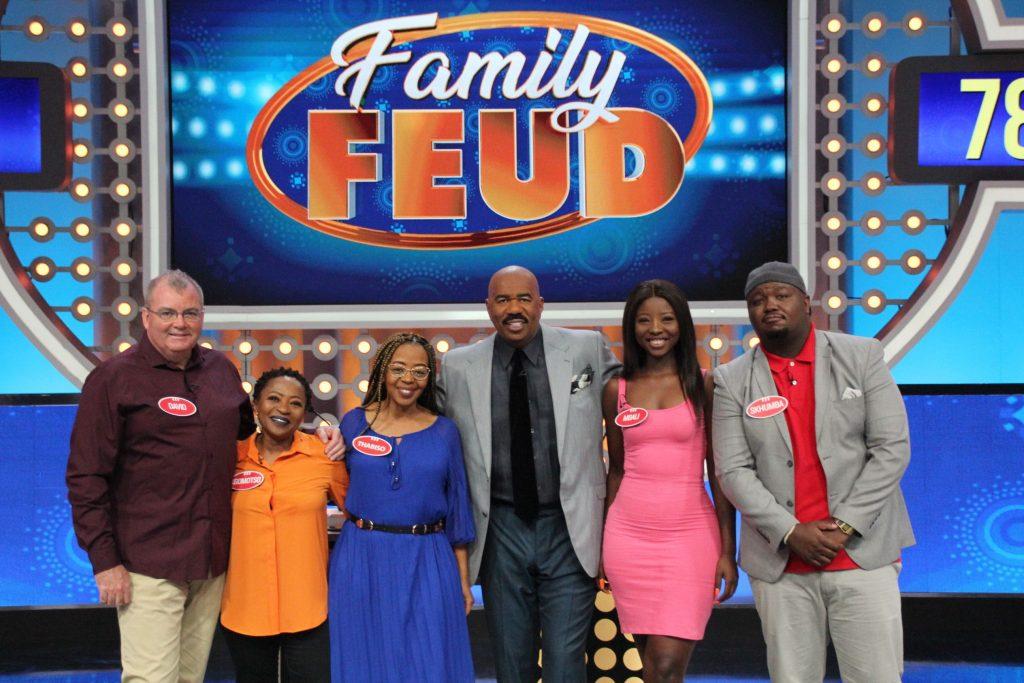 Team Kaya FM on Family Feud South Africa.