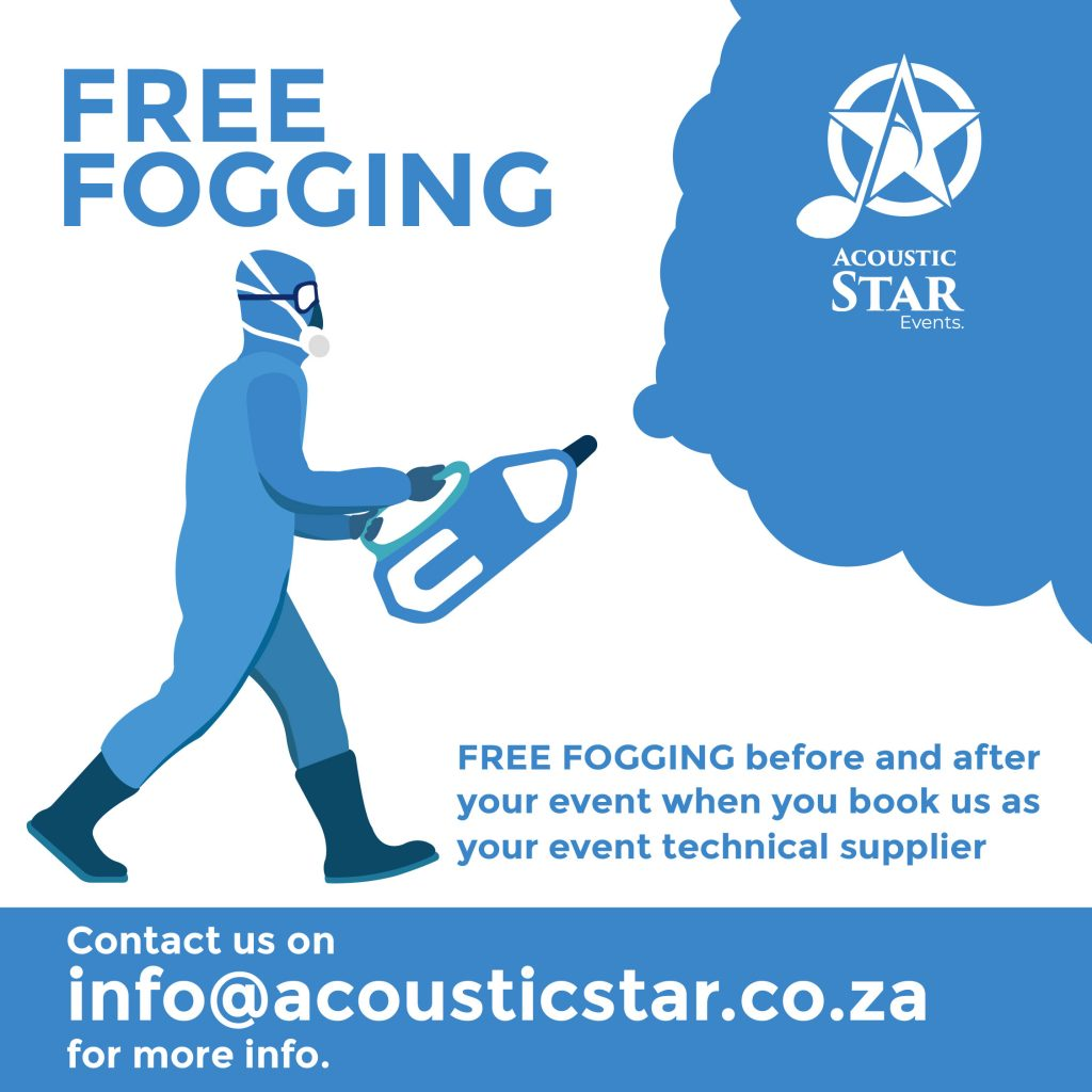Acoustic Star Events Free Fogging Service