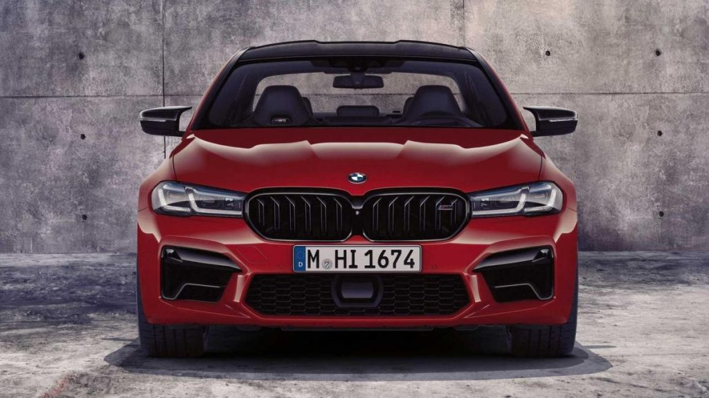 2021 BMW M5 front view