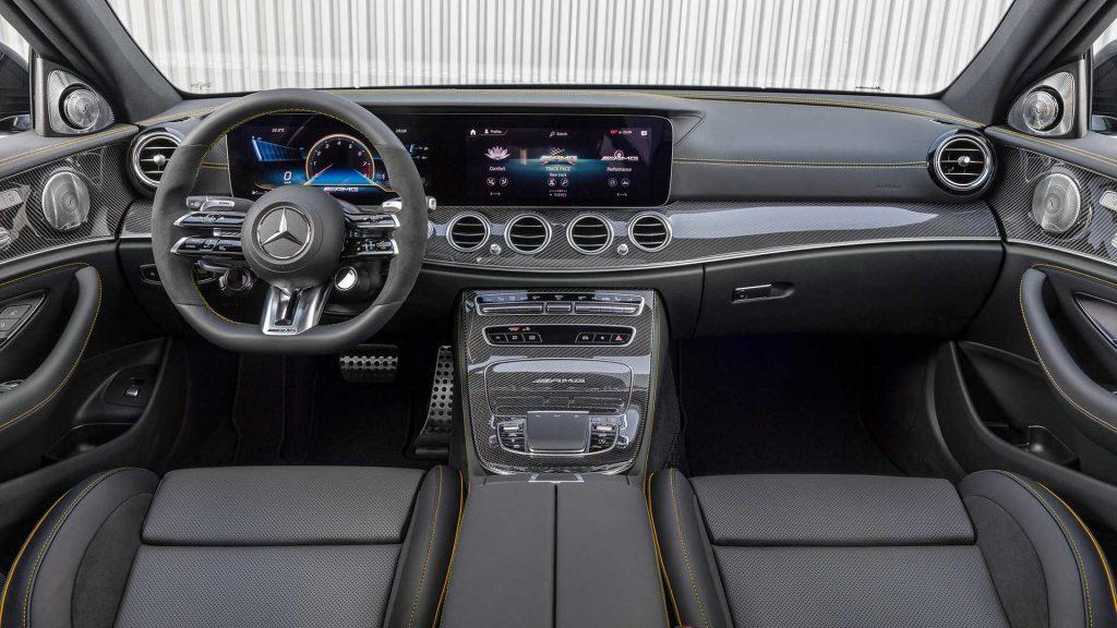 2021 Mercedes Benz E63 interior