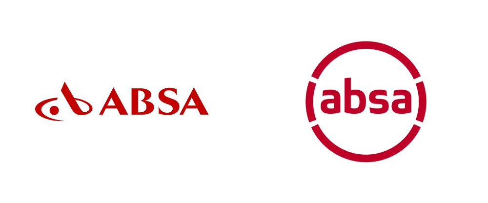 OLD ABSA logo and new ABSA logo