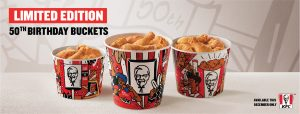 KFC goes 50/50 with Mzansi to celebrate 50 years in South Africa
