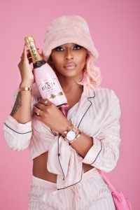 DJ Zinhle launches BLVD Signature edition Nectar Rosé MCC.