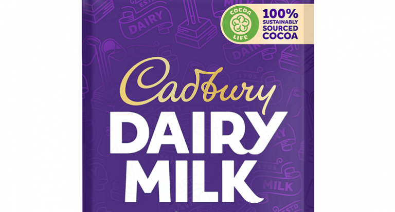 CADBURY DAIRY MILK CELEBRATES ITS NEW LOOK.