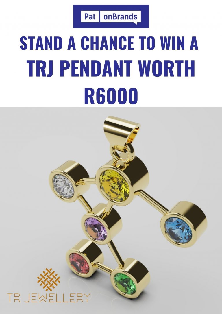Stand a chance to win a Thato Radebe jewellery pendant worth R6000