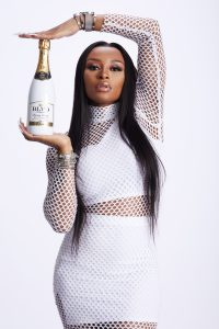 DJ Zinhle launches BLVD Luxury Nectar Signature Edition