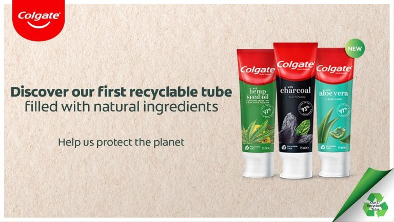 Colgate's first recyclable toothpaste tube comes to South Africa