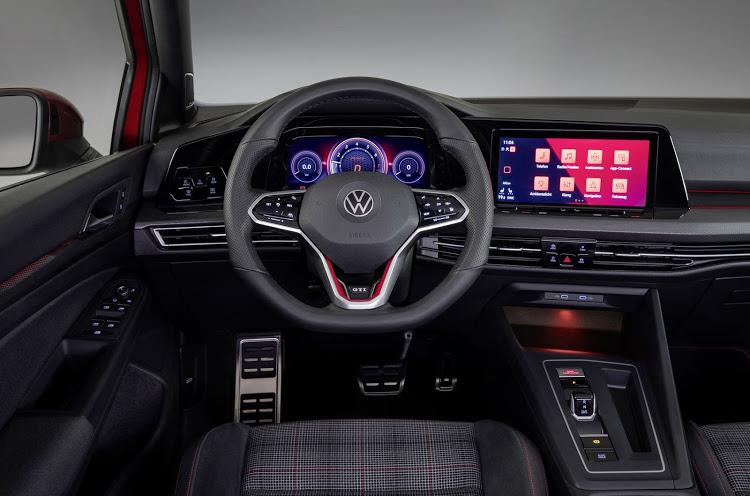 Golf 8 GTI interior
